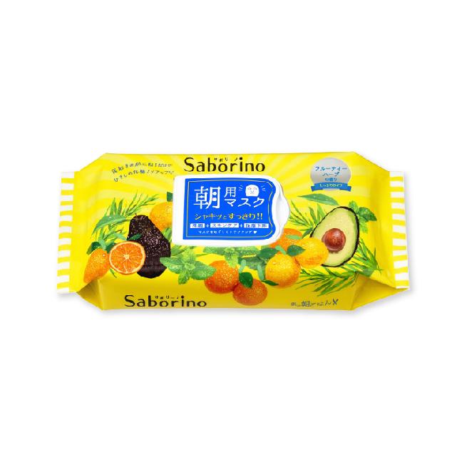 사보리노 아침용 마스크팩 과일 허브 향기 32매입