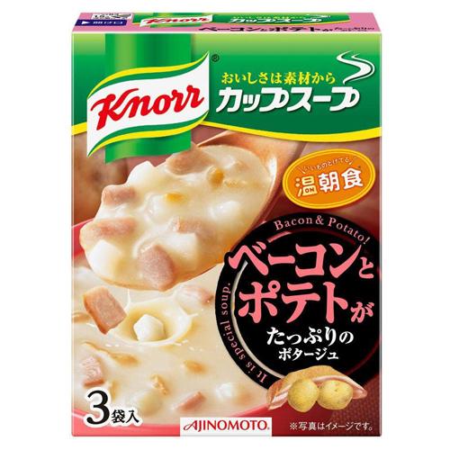 [아지노모토] 크노르 컵스프 3개입 베이컨 감자 포타주