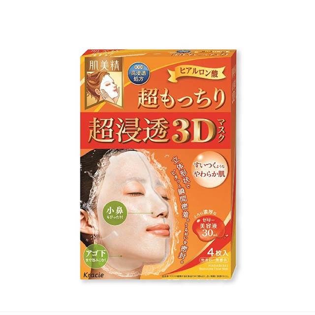 하다비세이 초 침투 3D 마스크 에이징 케어 히알루론산 4매입