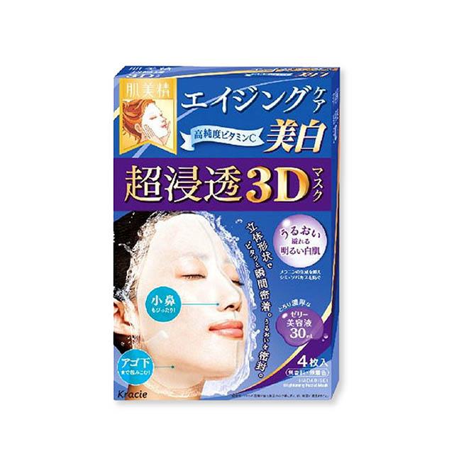 하다비세이 초 침투 3D 마스크 에이징 케어 비타민C 4매입