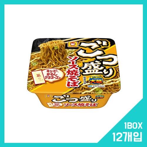 고츠모리 소스 야키소바 1박스 (12개입)
