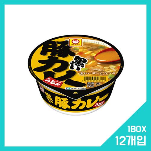 마루짱 쿠로이 돼지고기 카레 우동 1박스 (12개입)