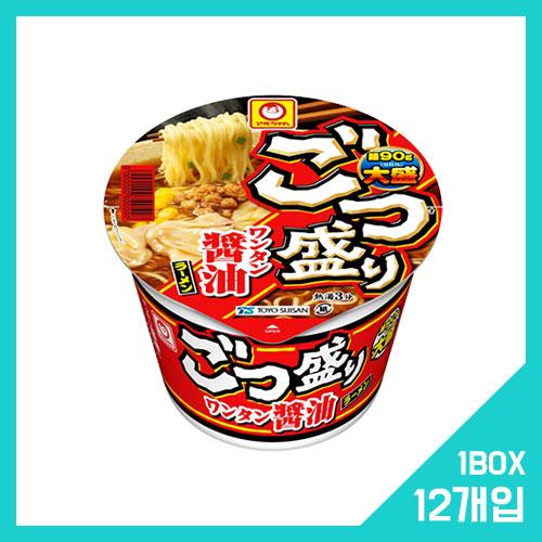 고츠모리 완탕 쇼유 라멘 1박스 (12개입)