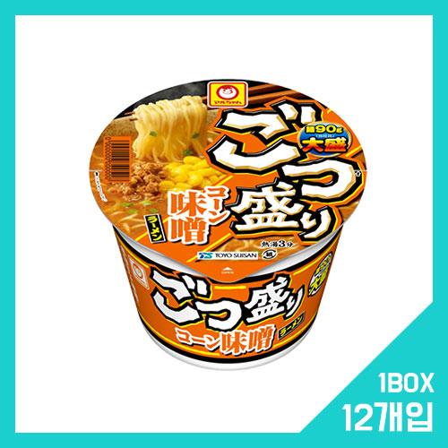 고츠모리 옥수수 미소 라멘 1박스 (12개입)