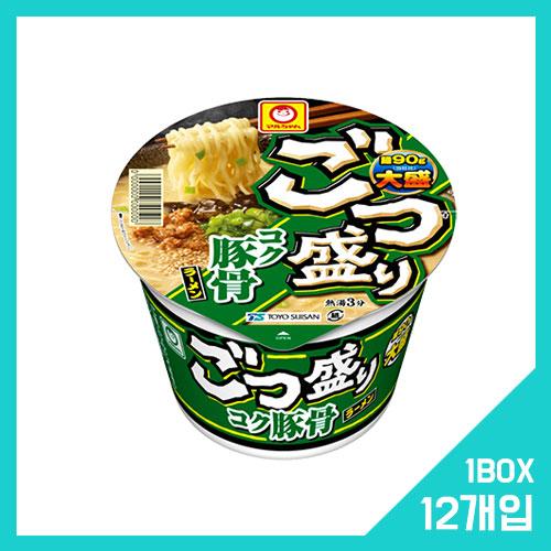 고츠모리 코쿠 돈코츠 라멘 1박스 (12개입)