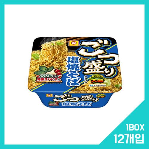 고츠모리 소금 야키소바 1박스 (12개입)