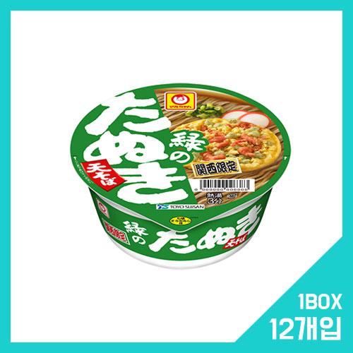 마루짱 미도리 타누키 튀김 소바 1박스 (12개입)