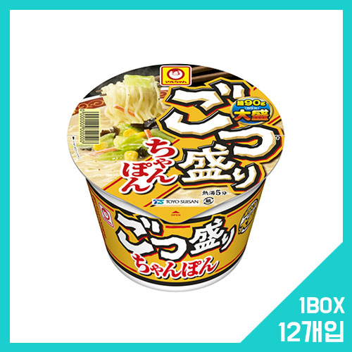고츠모리 짬뽕 1박스 (12개입)