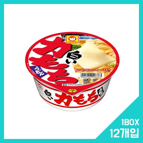 마루짱 시로이 치카라 모찌 우동 1박스 (12개입)