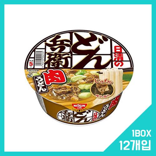 닛신 돈베이 고기 우동 1박스 (12개입)