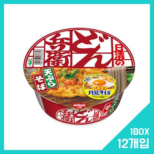 닛신 돈베이 튀김 소바 1박스 (12개입)