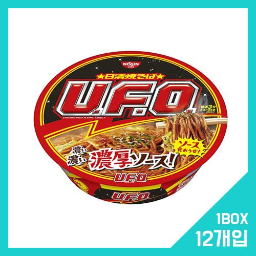 닛신 UFO 야키소바 오리지널 사이즈 1박스 (12개입)