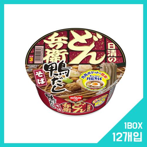 닛신 돈베이 오리 육수 소바 1박스 (12개입)