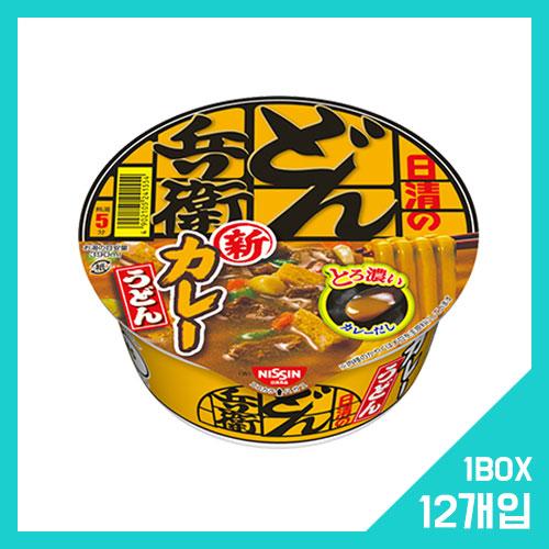 닛신 돈베이 카레 우동 1박스 (12개입)