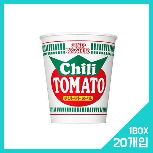 컵누들 칠리 토마토 1박스 (20개입)
