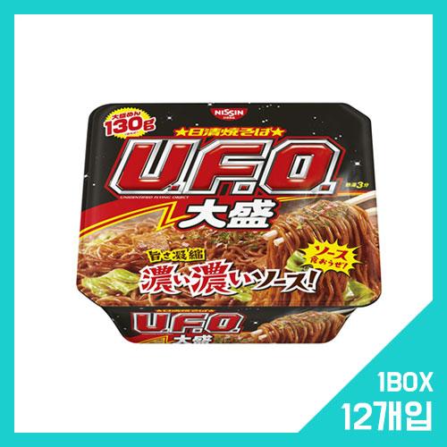 닛신 UFO 야키소바 빅 사이즈 1박스 (12개입)