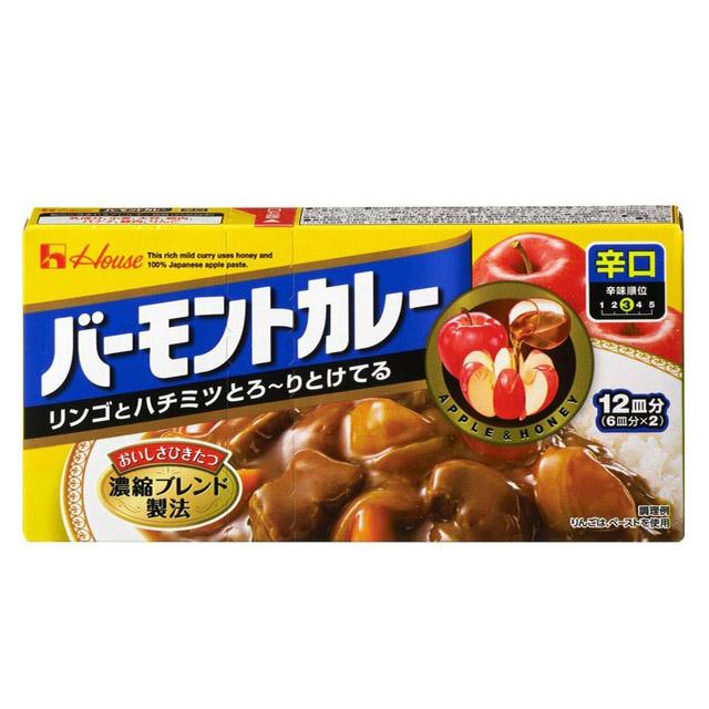 바몬드 카레 매운맛 12회분 230g