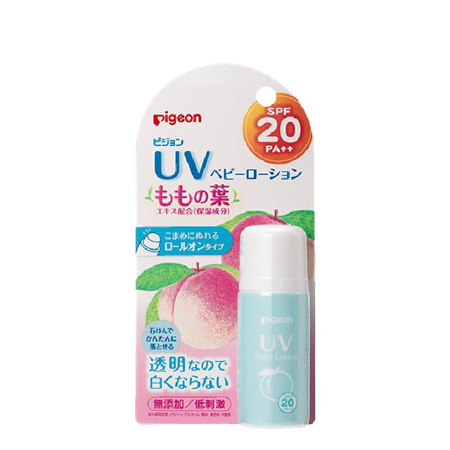 피죤 UV 복숭아잎 베이비 로션