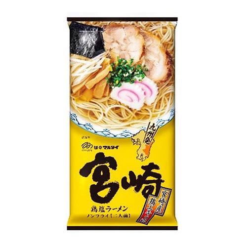 마루타이 미야자키 닭육수 시오라멘 2인분