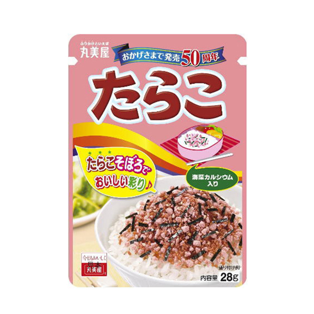 밥위에 뿌려먹는 후리카케 타라코 28g