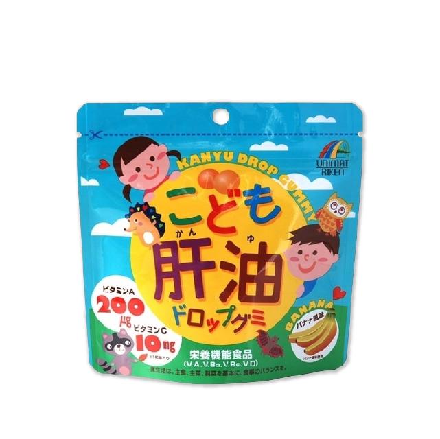 유니마트리켄 어린이 간유 드롭구미(바나나맛) 100정