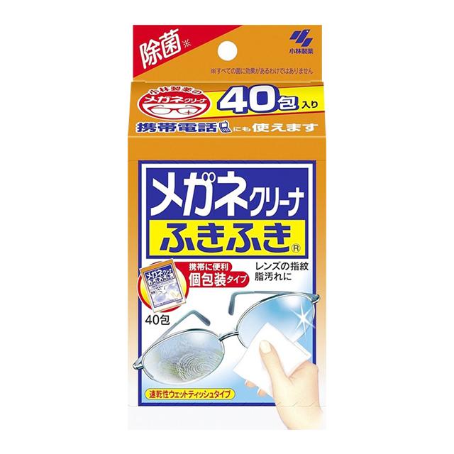 [코바야시]안경 클리너 후키후키(20매/40매)