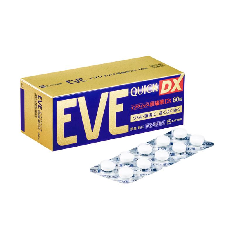 EVE 이브 퀵 DX 60정 일본 두통약